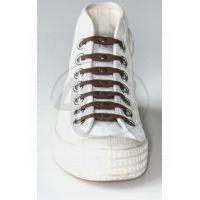 Shoeps Silikonové tkaničky Brown