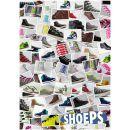 Shoeps Silikonové tkaničky Mix 3