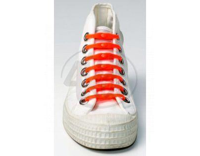 Shoeps Silikonové tkaničky Orange