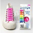 Shoeps Silikonové tkaničky Pink 2