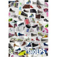 Shoeps Silikonové tkaničky Pink 4