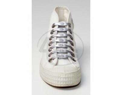 Shoeps Silikonové tkaničky Silver