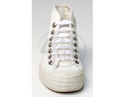 Shoeps Silikonové tkaničky White