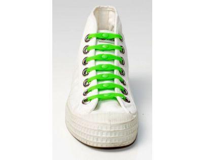 Shoeps Silikonové tkaničky Green