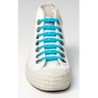 Shoeps Silikonové tkaničky Indigo