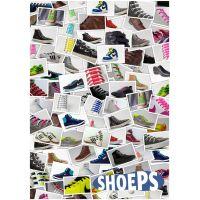 Shoeps Silikonové tkaničky Silver 3