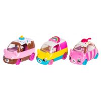 Shopkins Cutie Cars S1 3 pack Happy, Choc-Cherry a Rainbow