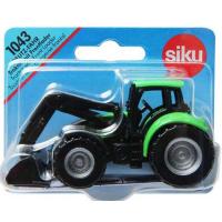 Siku Traktor Deutz Fahr s čelním nakladačem 1:87 2