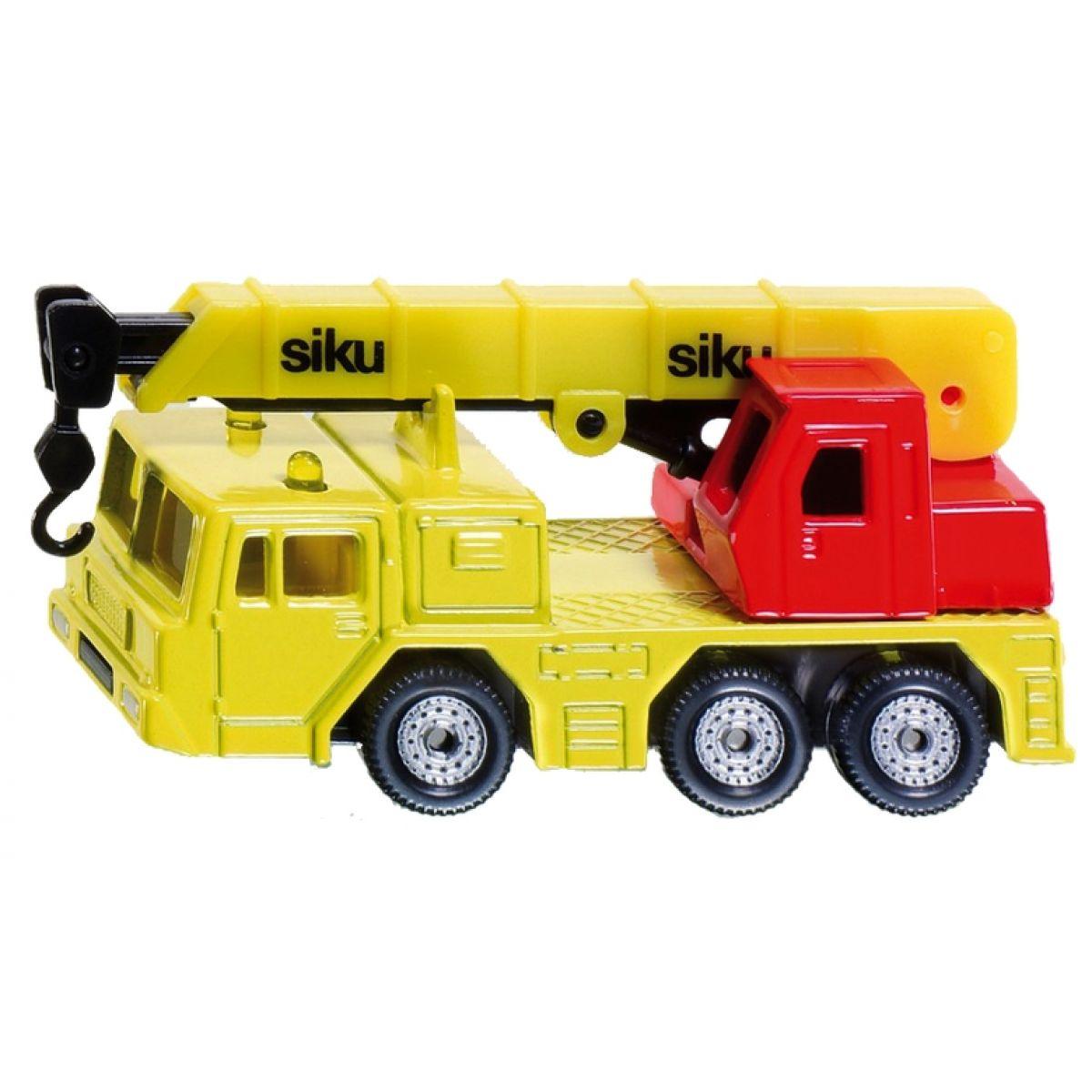 Siku 1326 Autojeřáb žlutá 1:87