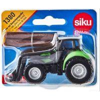 Siku 1380 Traktor s kliešťami na drevo 2