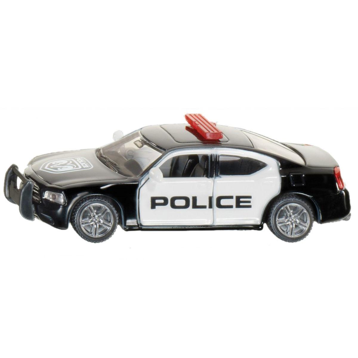 Siku Model auto US americká policie kov 1:55