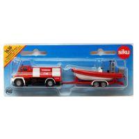 Siku 1636 Požiarne vozidlo Unimog s člnom 2