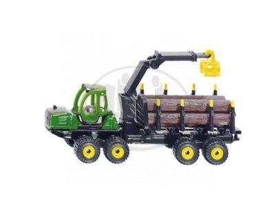 Siku 1649 Lesnický vyvážecí traktor John Deere