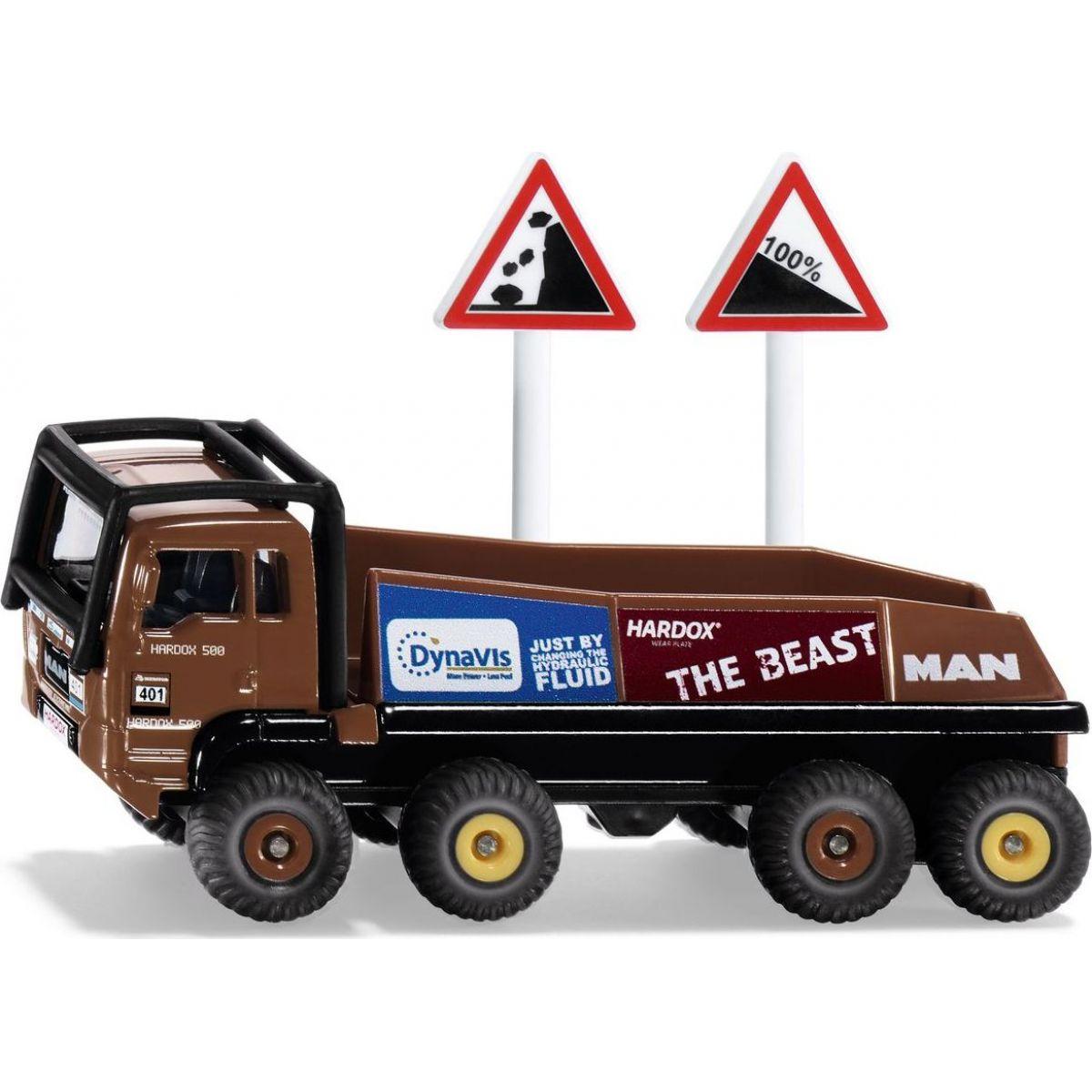 Siku nákladní auto MAN Truck Trial