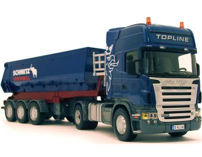 SIKU Control 6725 - RC Tahač Scania R620 se sklápěcím návěsem a dálkovým ovládáním