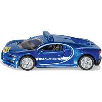 Siku Blister Bugatti Chiron modrý