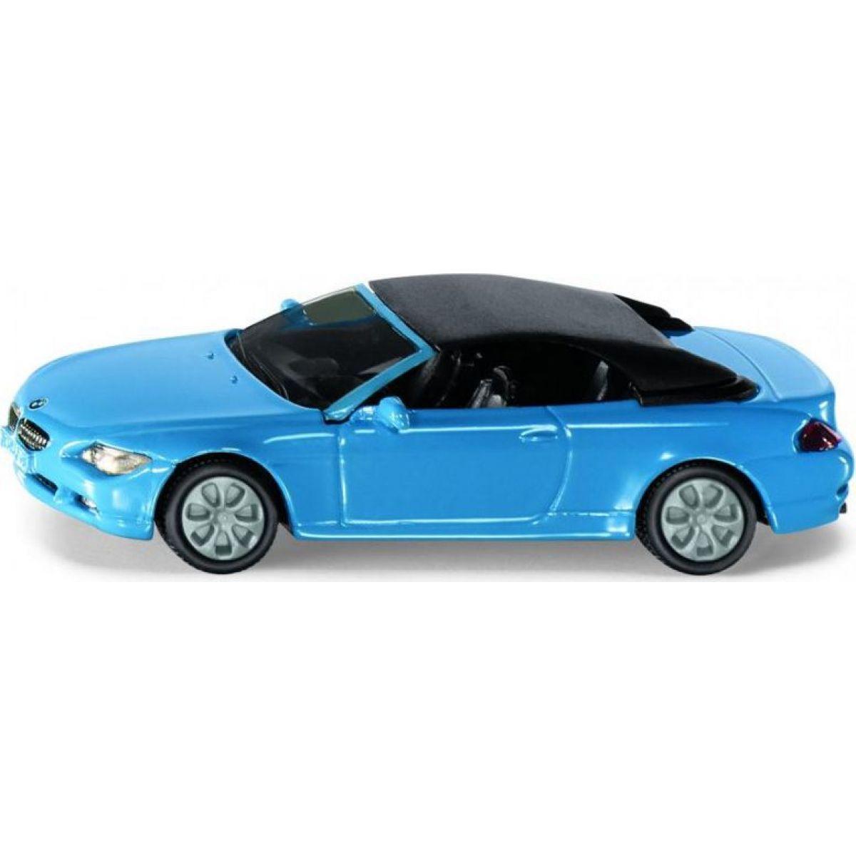 Siku Blister BMW 645i Cabriolet zeleno-modré