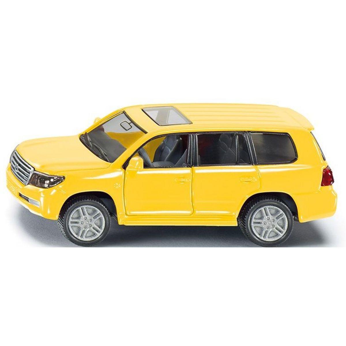 Siku Auto Toyota Landcruiser žlutá model kov 1440 1:55