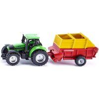 Siku Blister Traktor s vlekem
