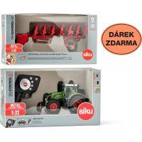 Siku Control limitovaná edice traktor Fendt 939 oboustranný pluh 1:32