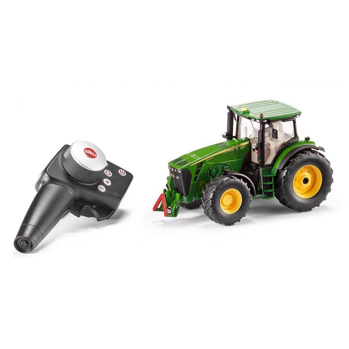 Siku Control RC traktor John Deere 8345R s dálkovým ovládáním 1:32