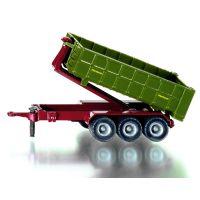 SIKU Farmer 1855 - Traktor JCB Fasttrac 8250 s kontejnerovým přívěsem 2