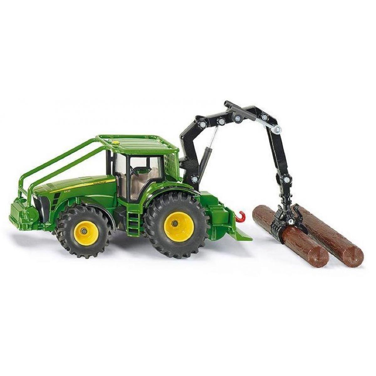 Siku Farmer Lesnický traktor John Deere 1:50 SIKU