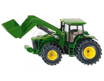 SIKU Farmer 1982 - Traktor John Deere s předním nakladačem, 1:50