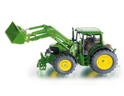 Siku Farmer Traktor John Deere s čelním nakladačem