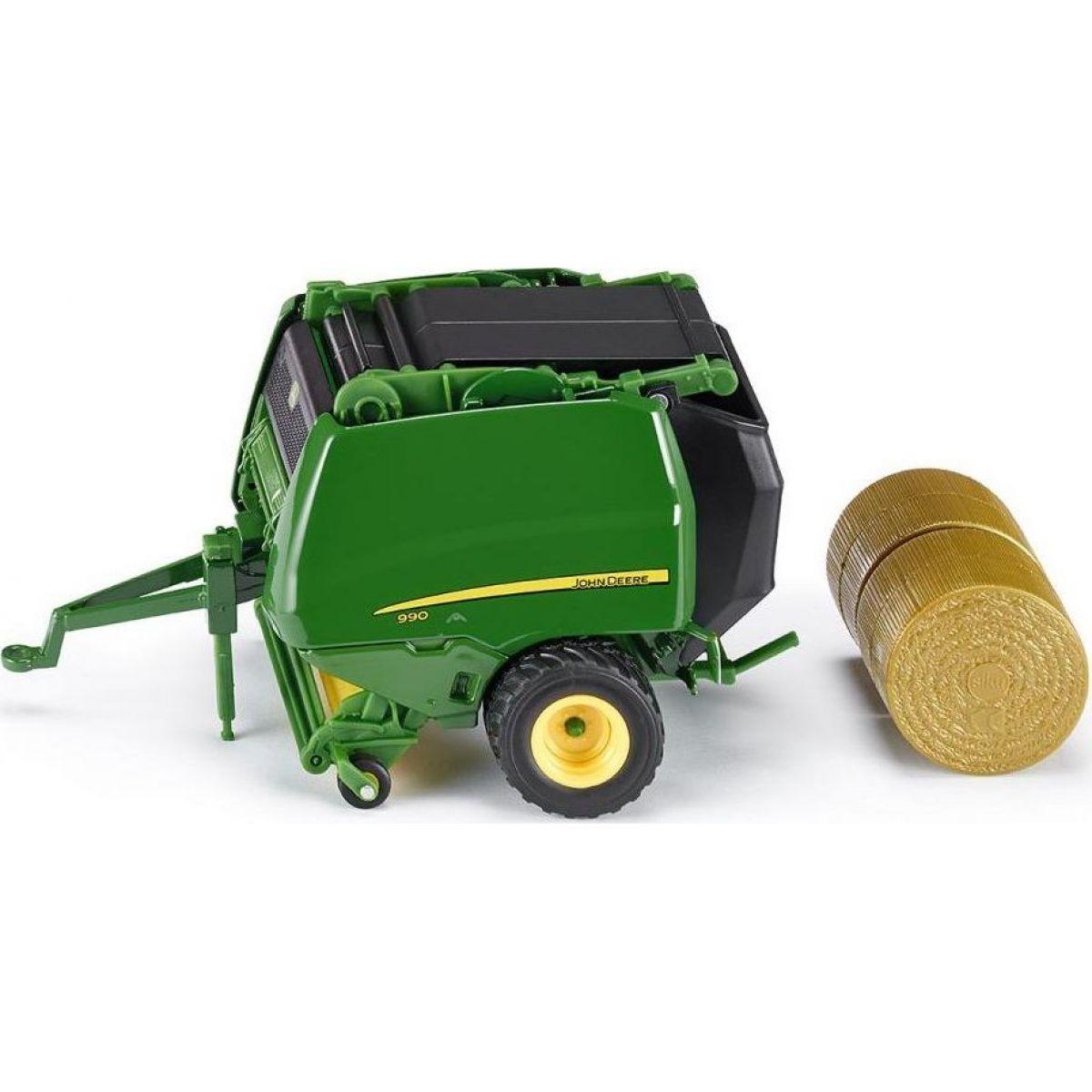 Siku Farmer John Deere balíkovačka 1:32 SIKU