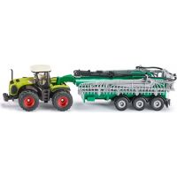 Siku Farmer Traktor Claas Xerion s cisternou 1:87