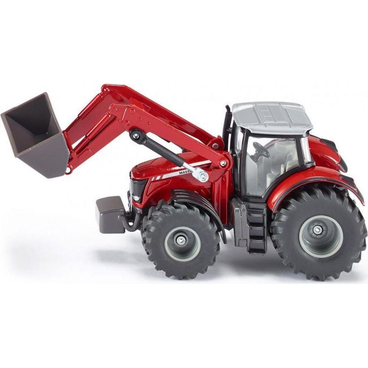 SIKU Claas Farmer Traktor s předním nakladačem 1:50