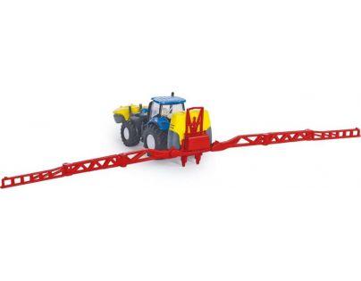 Siku Farmer Traktor New Holland s rozprašovačem 1:87