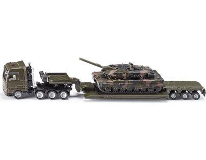 Siku Super Těžký transportér přepravující tank 1:87