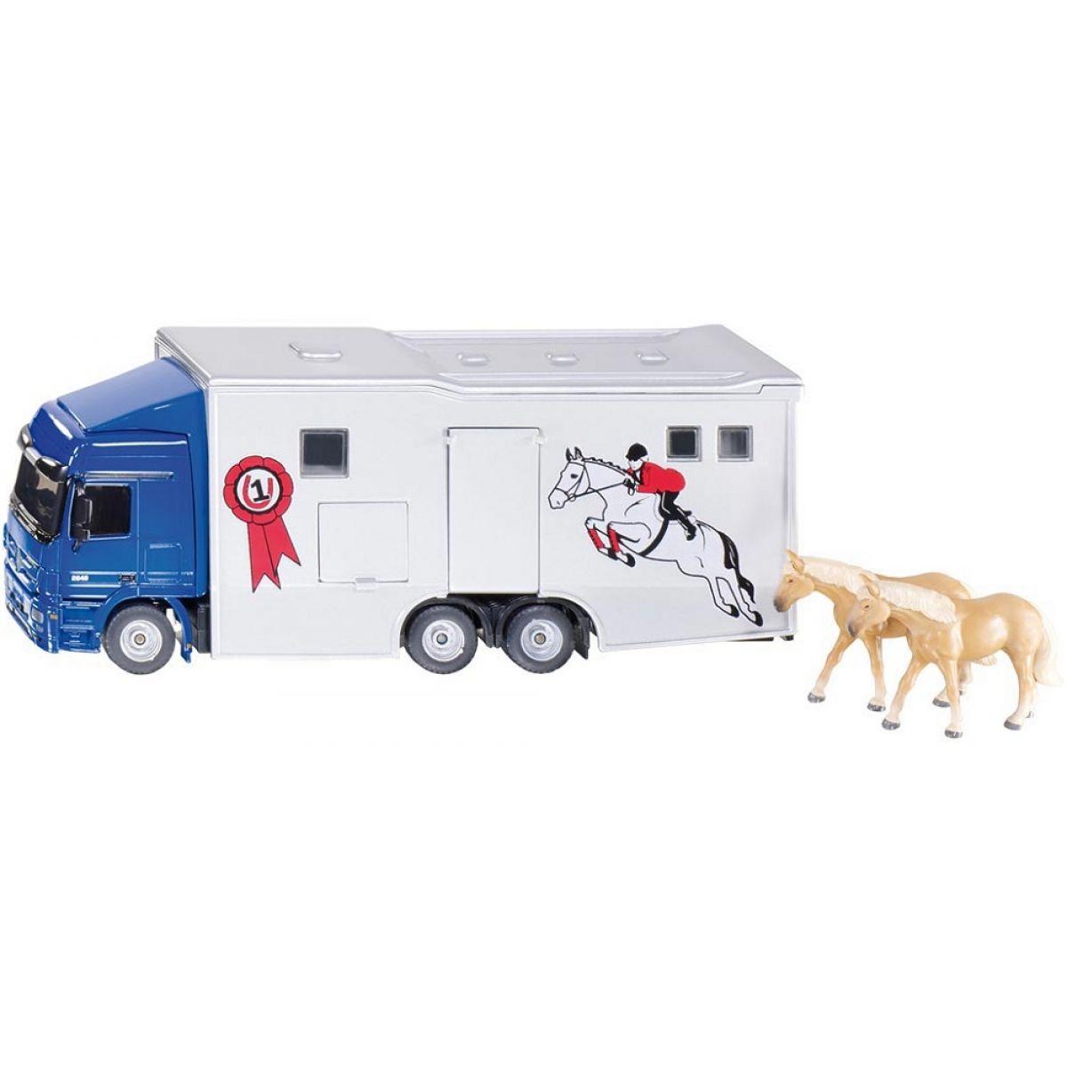 Siku Super 1942 Transporter pro přepravu koní