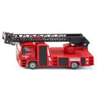 Siku Super hasiči MAN s otočným žebříkem