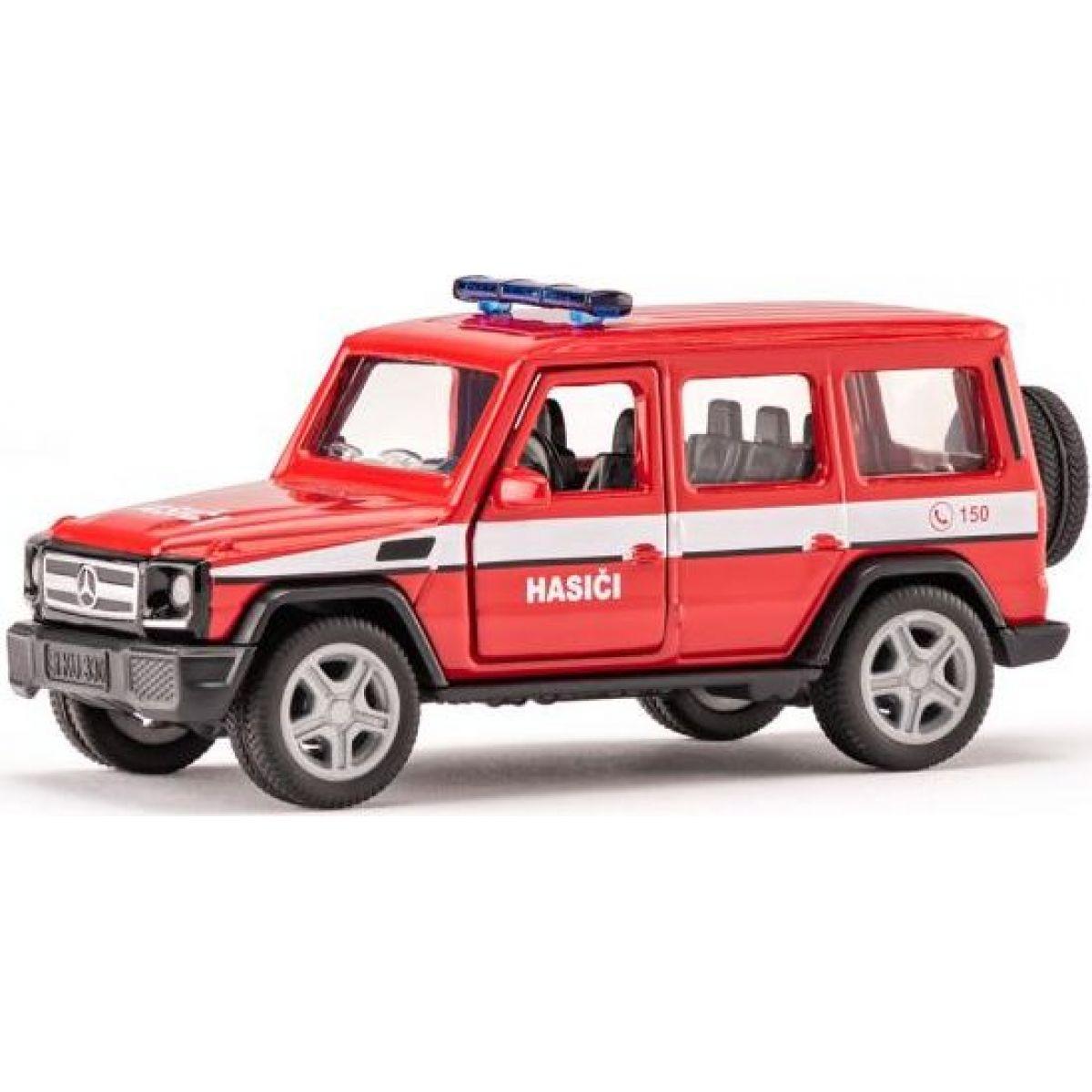 Siku super česká verzia hasiči Mercedes AMG G65