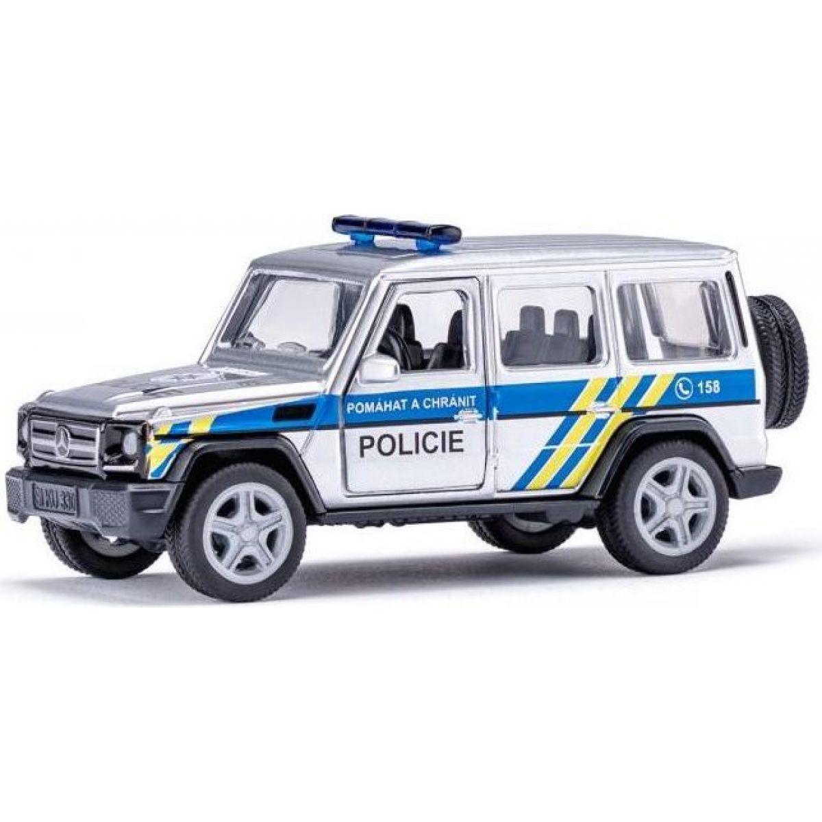 Siku super česká verzia polícia Mercedes AMG G65