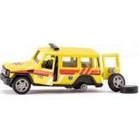 Siku super česká verzia ambulancia Mercedes AMG G65 3