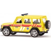 Siku super česká verzia ambulancia Mercedes AMG G65 2