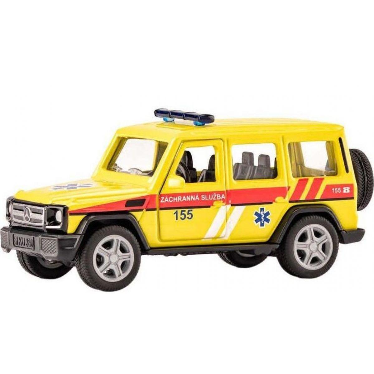Siku super česká verzia ambulancia Mercedes AMG G65