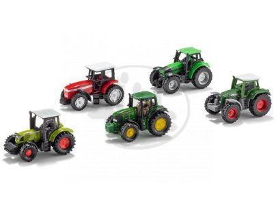 SIKU Super 6284 - Sada malých traktorů 5 ks