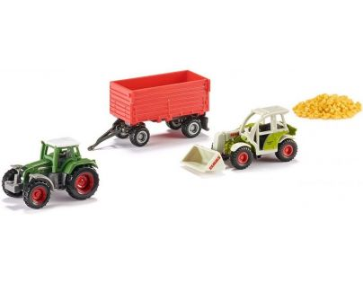 Siku Super 6304 Zemědělská vozidla a prkna
