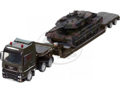 Siku 8612 Super Vojenský transportér s tankem