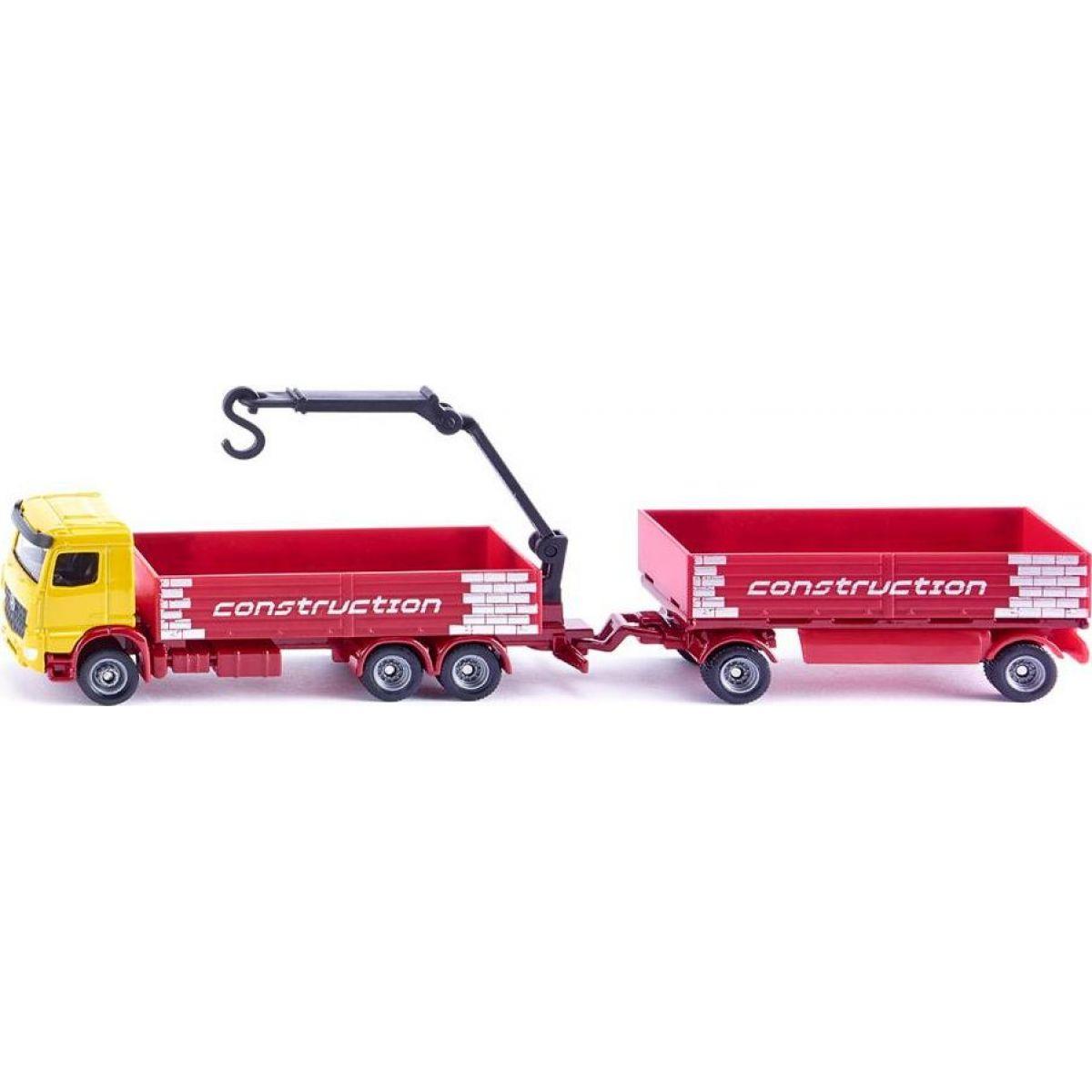 Siku Auto nákladní kamion set s přívěsem model kov 1797 1:87
