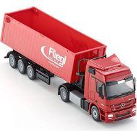 Siku Super Kamion s vyklápěcím vlekem červený 1:50 3