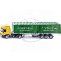 Siku Super 3921 LKW kamion se 2 kontejnery