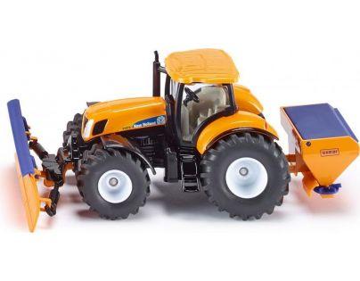Siku Super Traktor s přední radlicí a sypačem soli 1:50