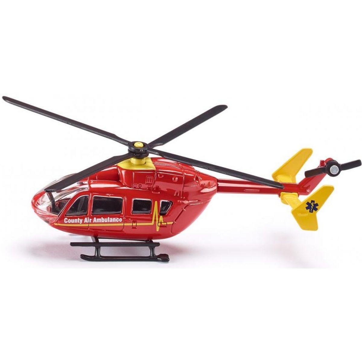 Kovový model SIKU Blister taxi vrtulník 1:87