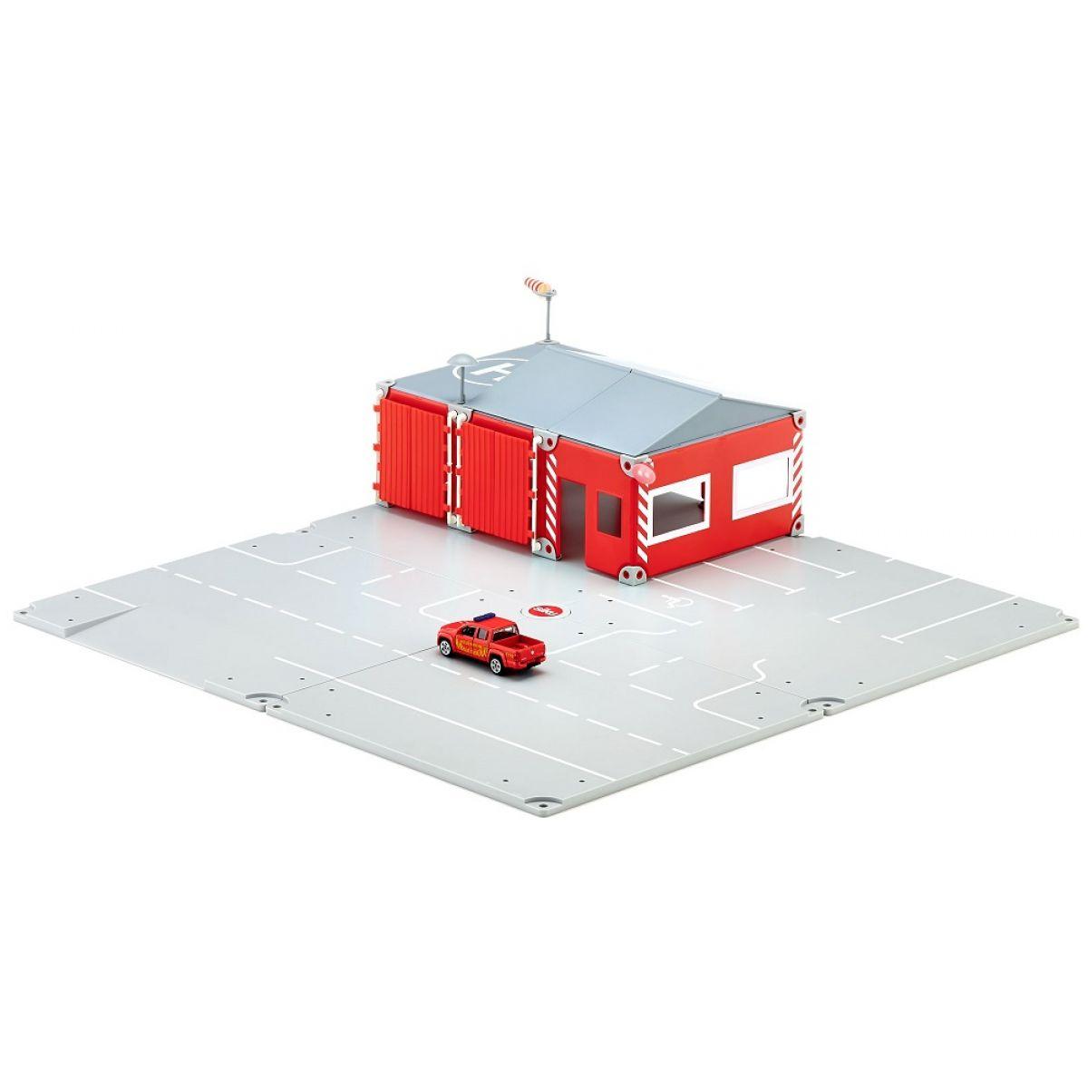 SIKU 5502 WORLD Set požární stanice 16 dílů 1:50